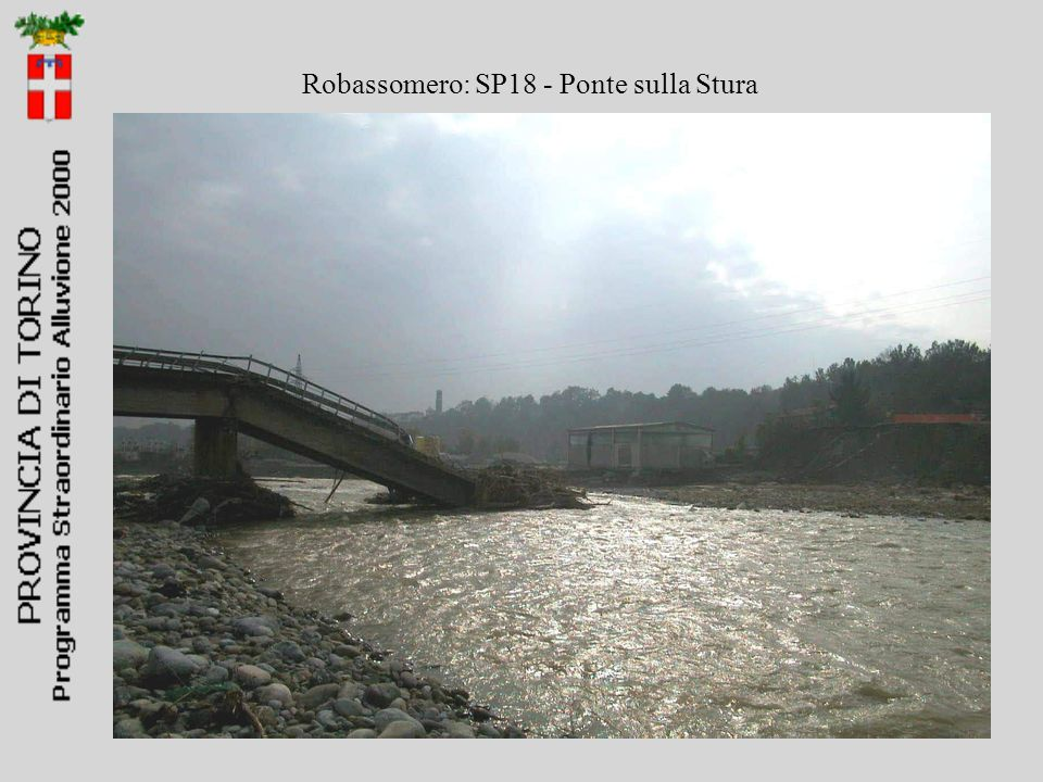 Robassomero: SP18 - Ponte sulla Stura