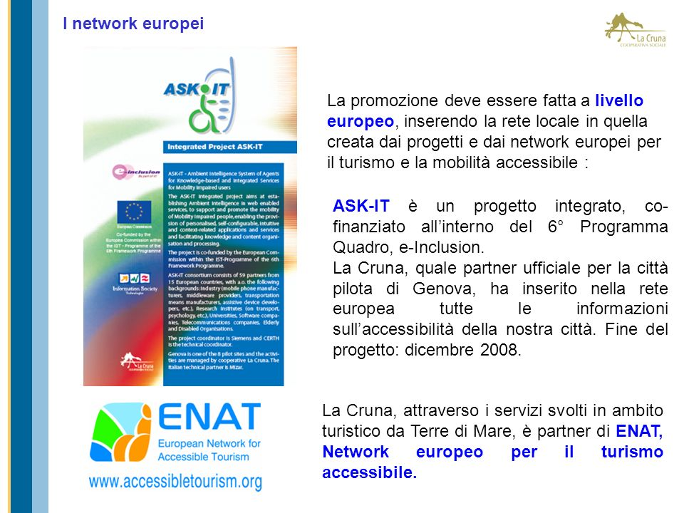I network europei
