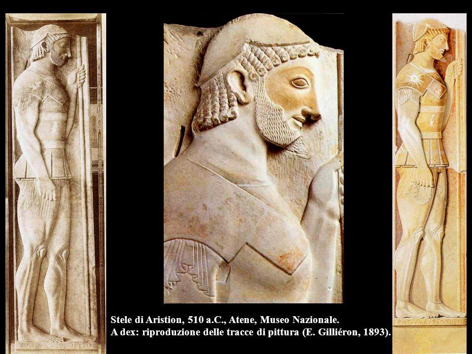 Stele di Aristion, 510 a. C. , Atene, Museo Nazionale