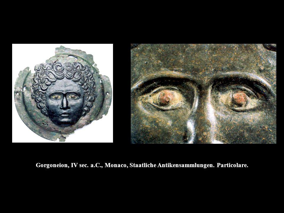 Gorgoneion, IV sec. a. C. , Monaco, Staatliche Antikensammlungen