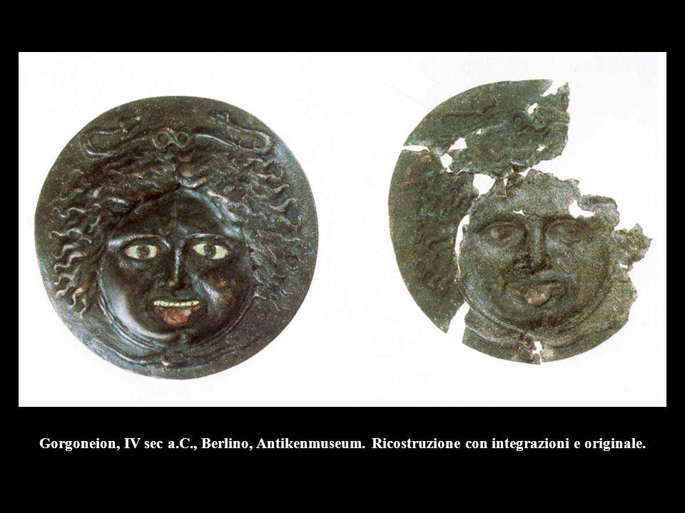 Gorgoneion, IV sec a. C. , Berlino, Antikenmuseum