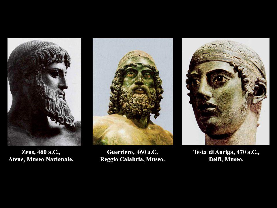 Zeus, 460 a.C., Atene, Museo Nazionale.
