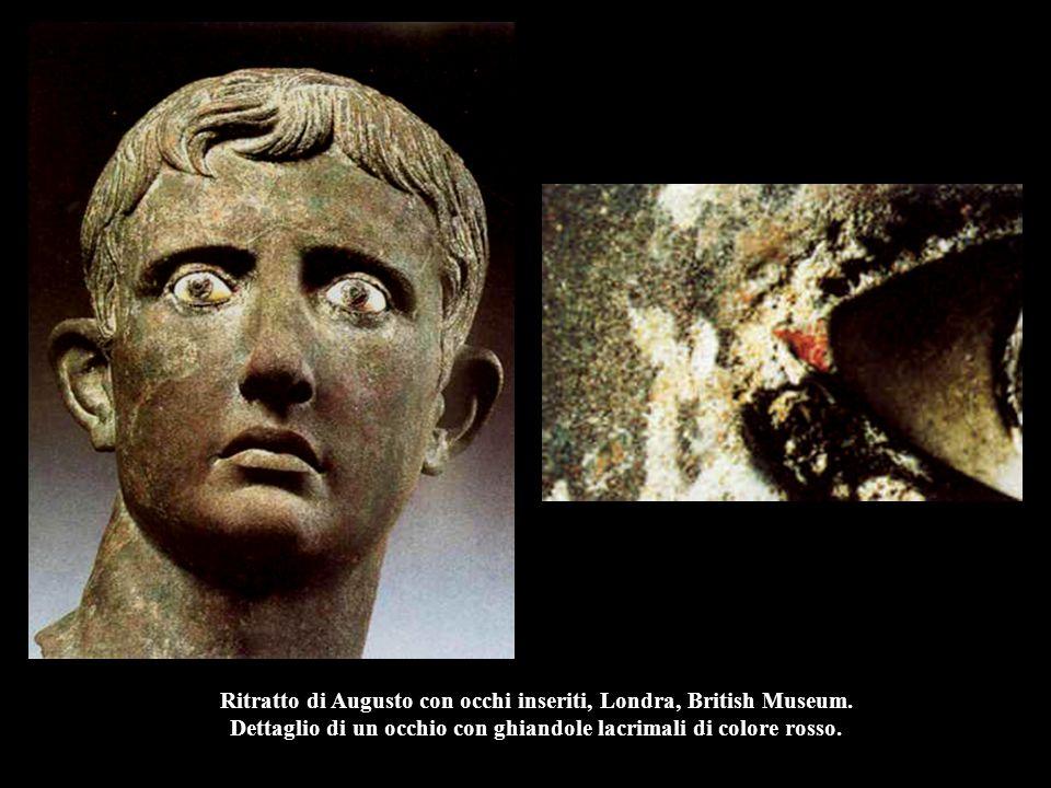 Ritratto di Augusto con occhi inseriti, Londra, British Museum