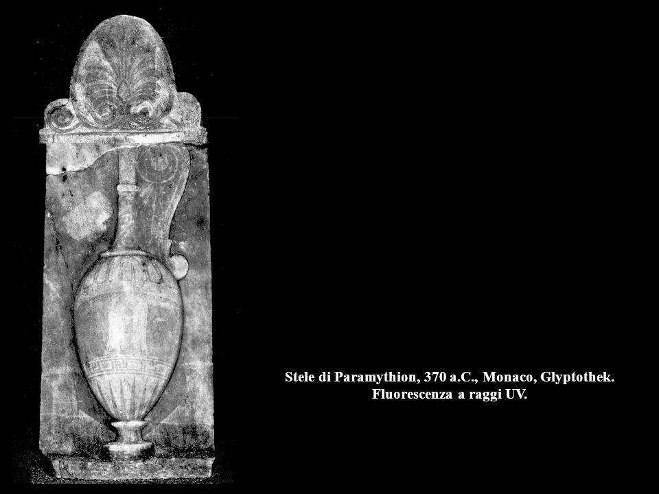 Stele di Paramythion, 370 a. C. , Monaco, Glyptothek