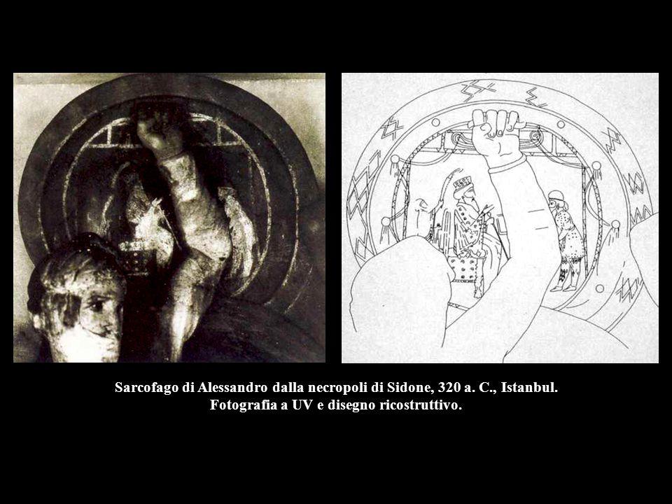 Sarcofago di Alessandro dalla necropoli di Sidone, 320 a.