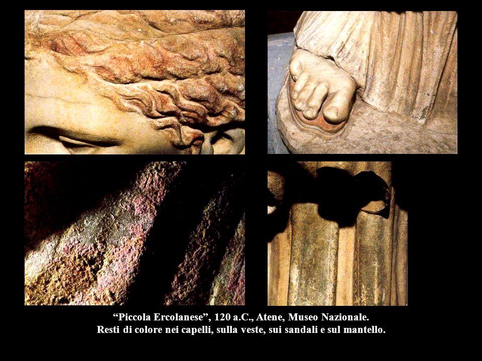 Piccola Ercolanese , 120 a. C. , Atene, Museo Nazionale
