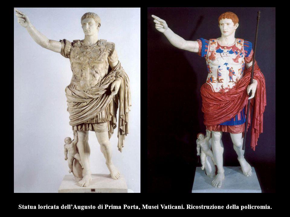 Statua loricata dell'Augusto di Prima Porta, Musei Vaticani