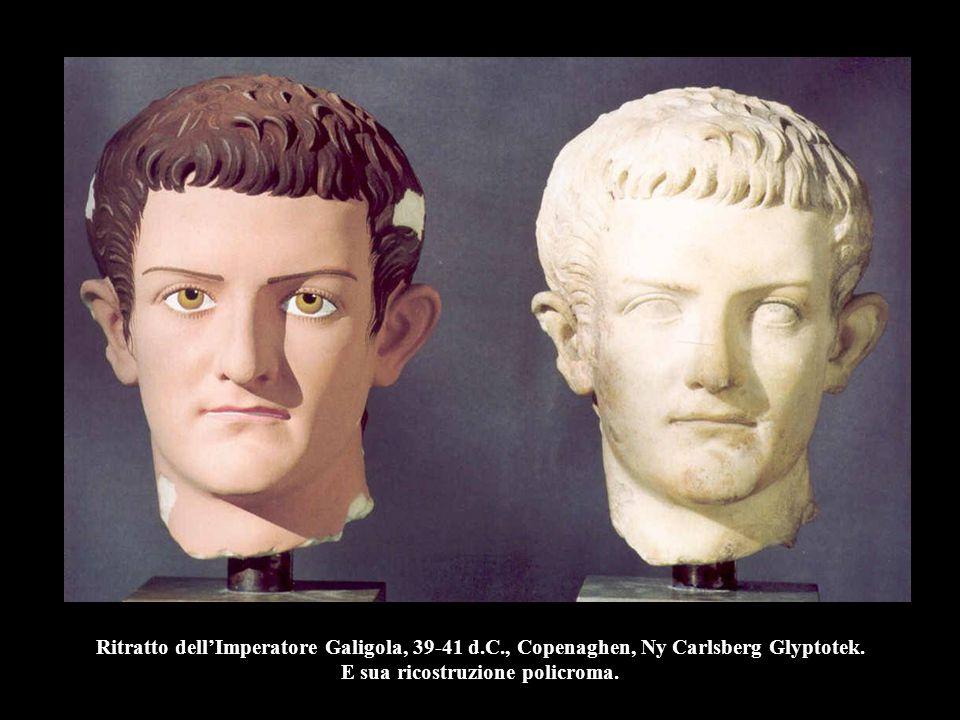 Ritratto dell'Imperatore Galigola, 39-41 d. C