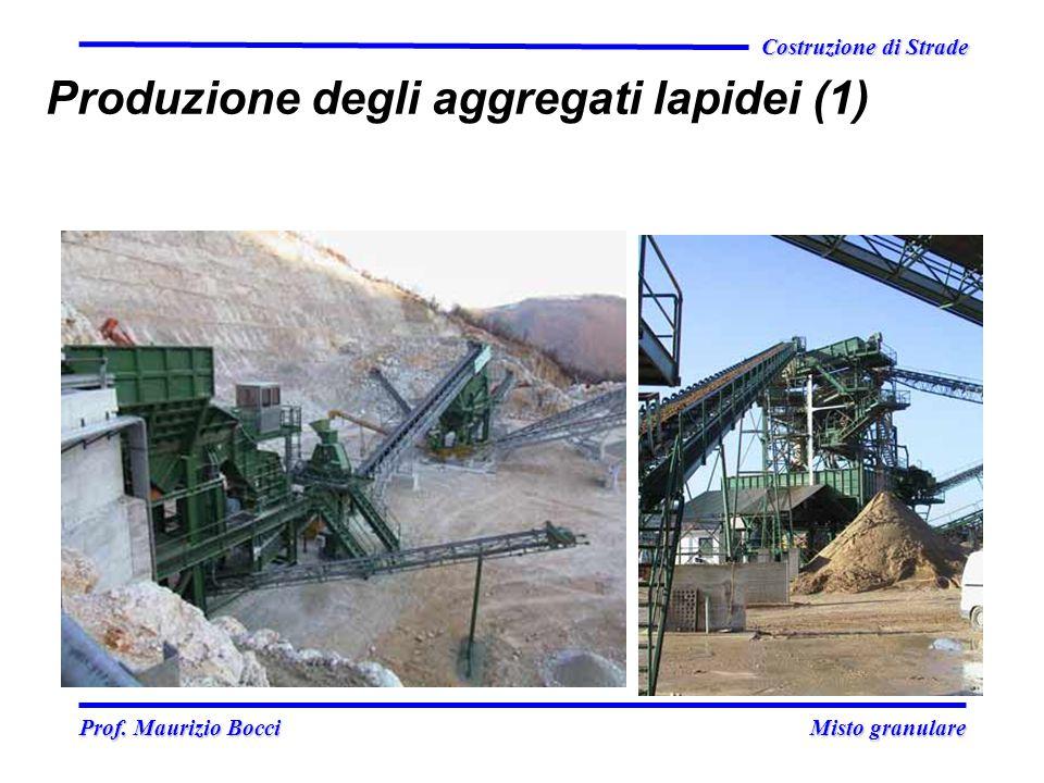 Produzione degli aggregati lapidei (1)