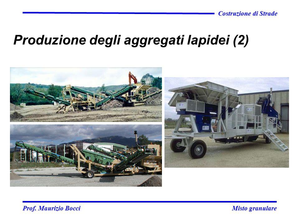 Produzione degli aggregati lapidei (2)