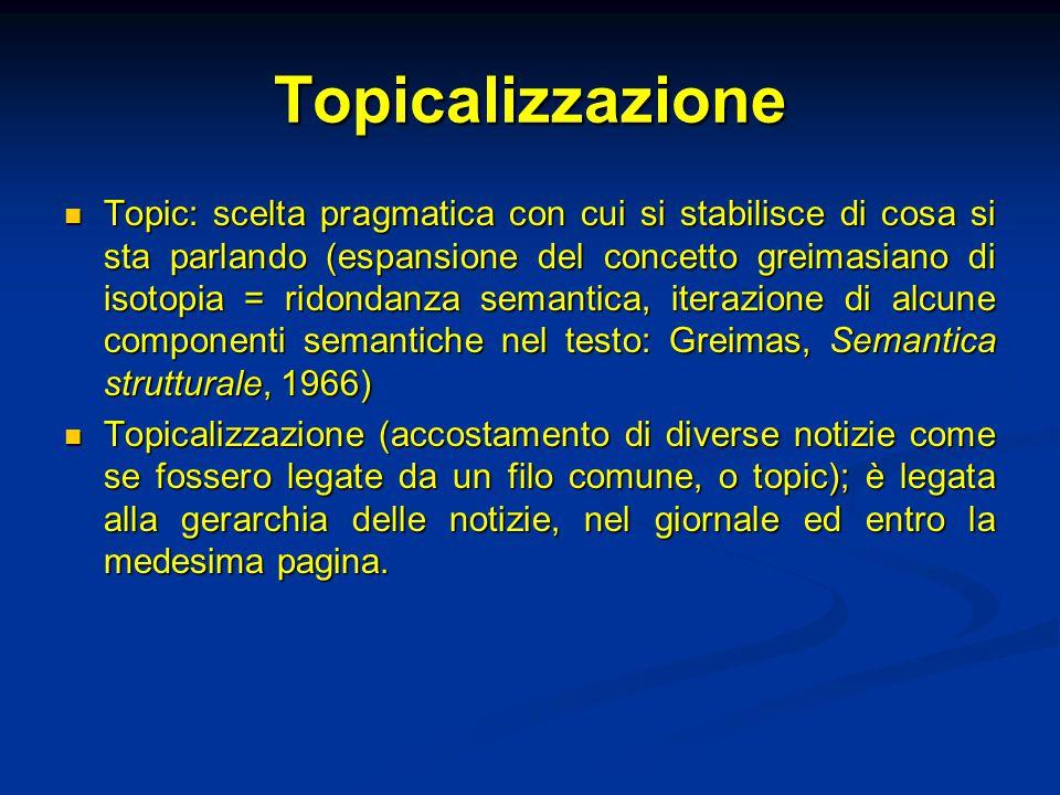Topicalizzazione