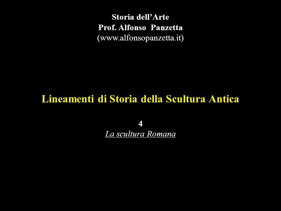 Lineamenti di Storia della Scultura Antica 4 La scultura Romana