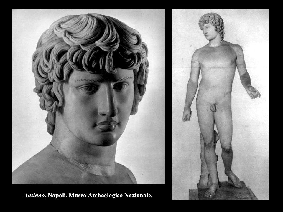 Antinoo, Napoli, Museo Archeologico Nazionale.