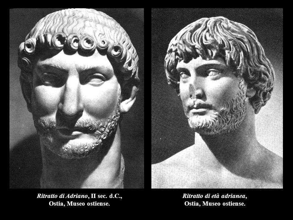 Ritratto di Adriano, II sec. d.C., Ritratto di età adrianea,