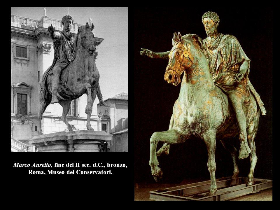 Marco Aurelio, fine del II sec. d.C., bronzo,