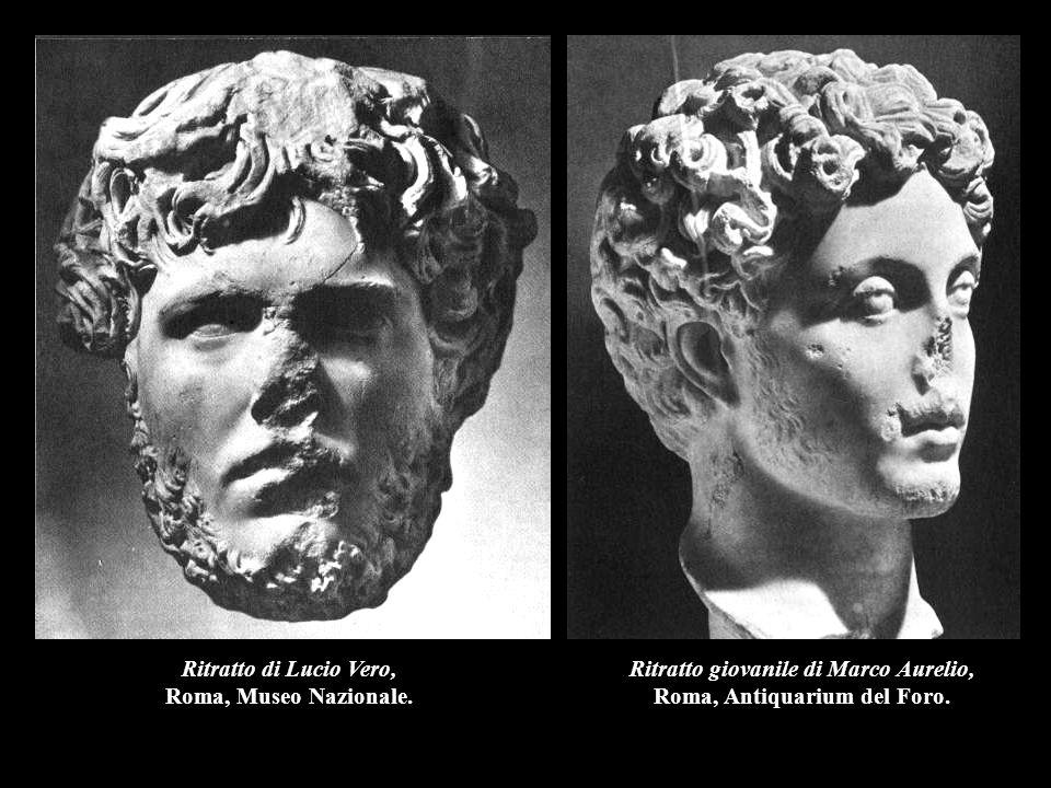 Ritratto giovanile di Marco Aurelio, Roma, Antiquarium del Foro.
