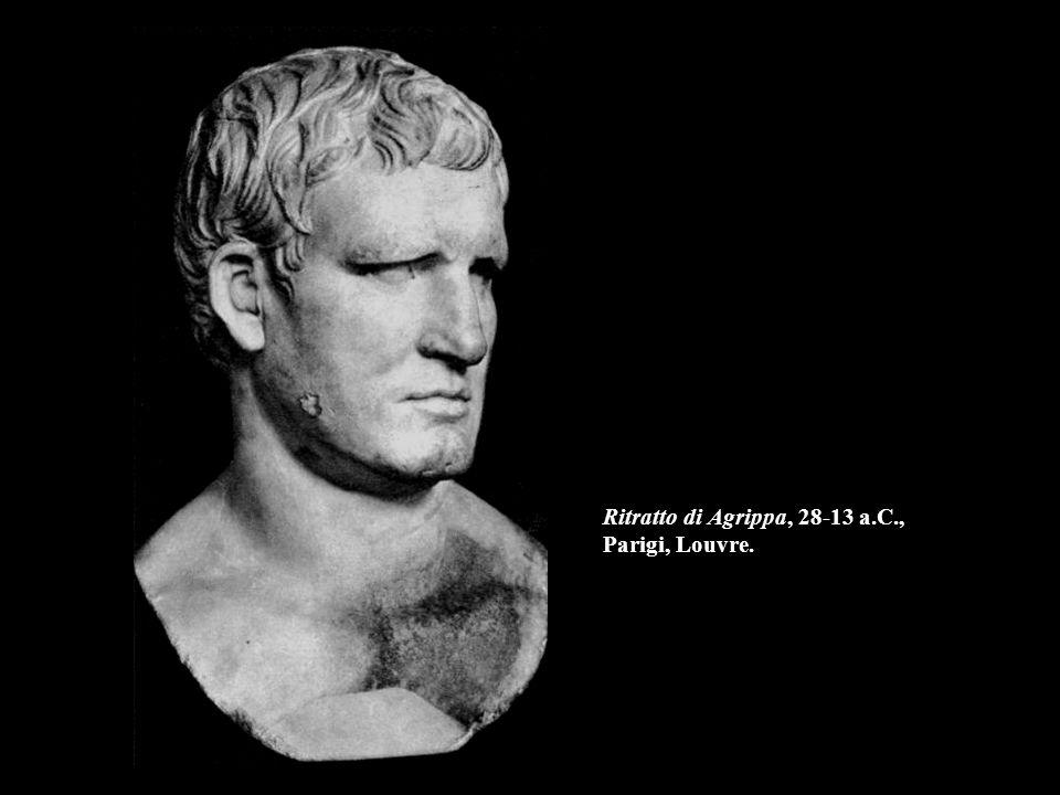 Ritratto di Agrippa, 28-13 a.C., Parigi, Louvre.