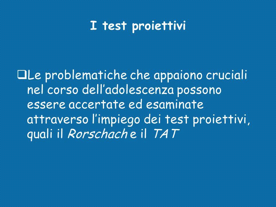 I test proiettivi