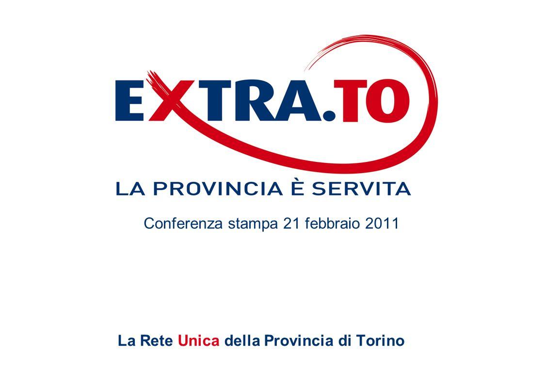La Rete Unica della Provincia di Torino