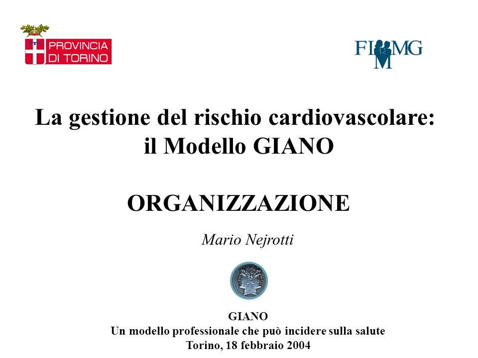 La gestione del rischio cardiovascolare: il Modello GIANO