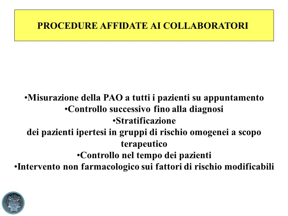 PROCEDURE AFFIDATE AI COLLABORATORI