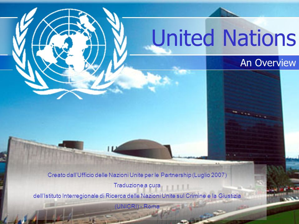 United Nations An Overview