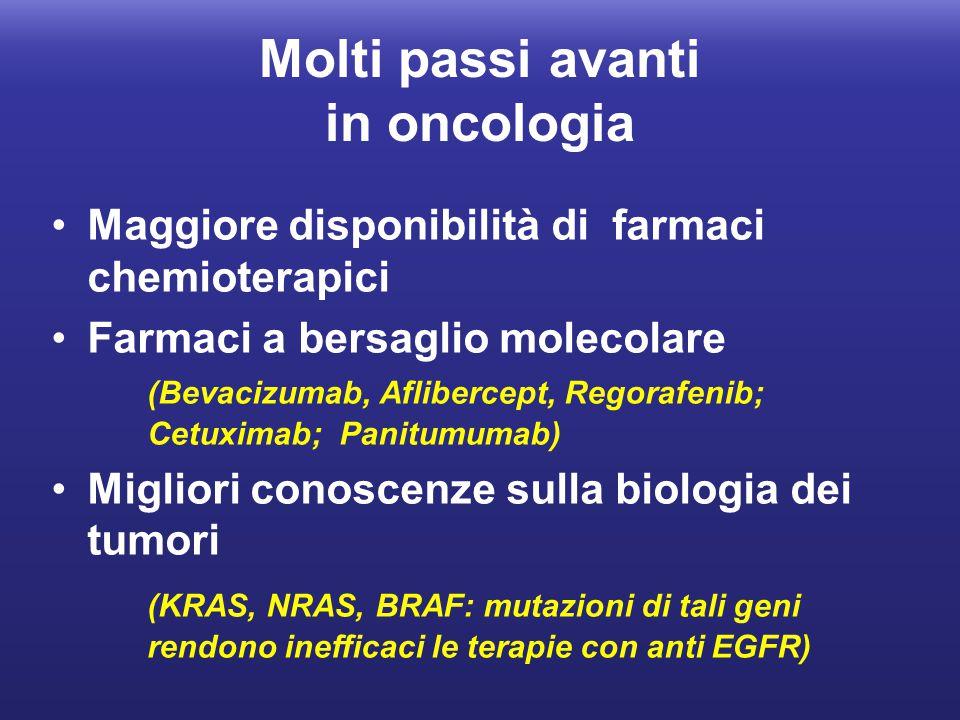 Molti passi avanti in oncologia