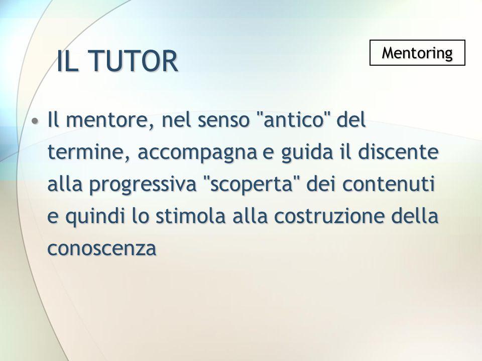 IL TUTOR Mentoring.
