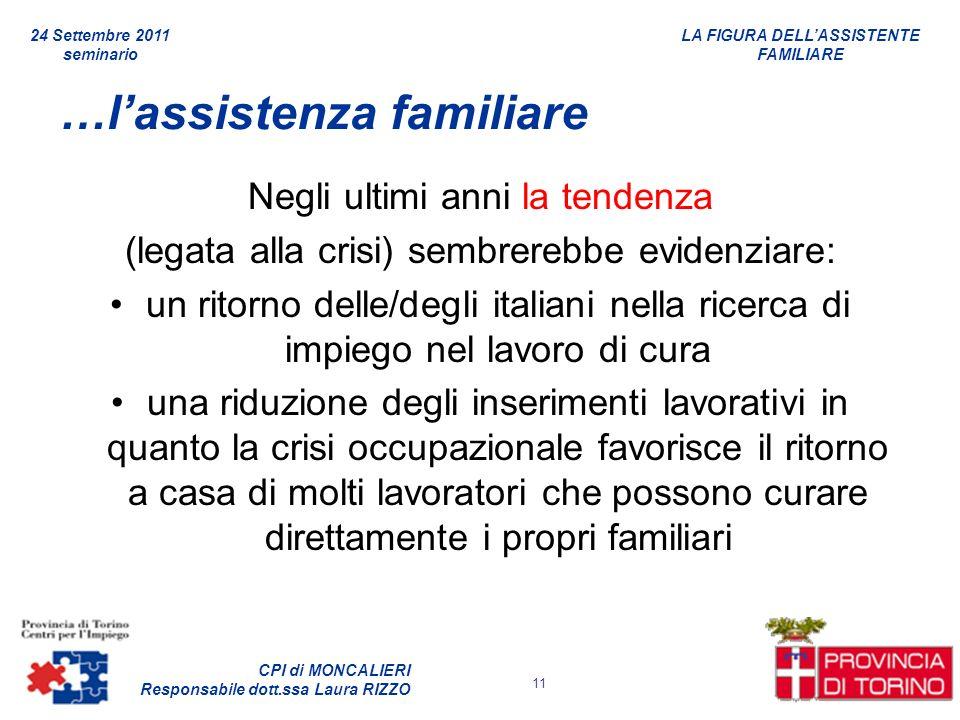 …l'assistenza familiare