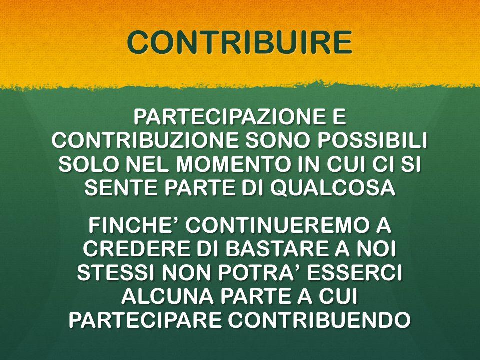 CONTRIBUIRE