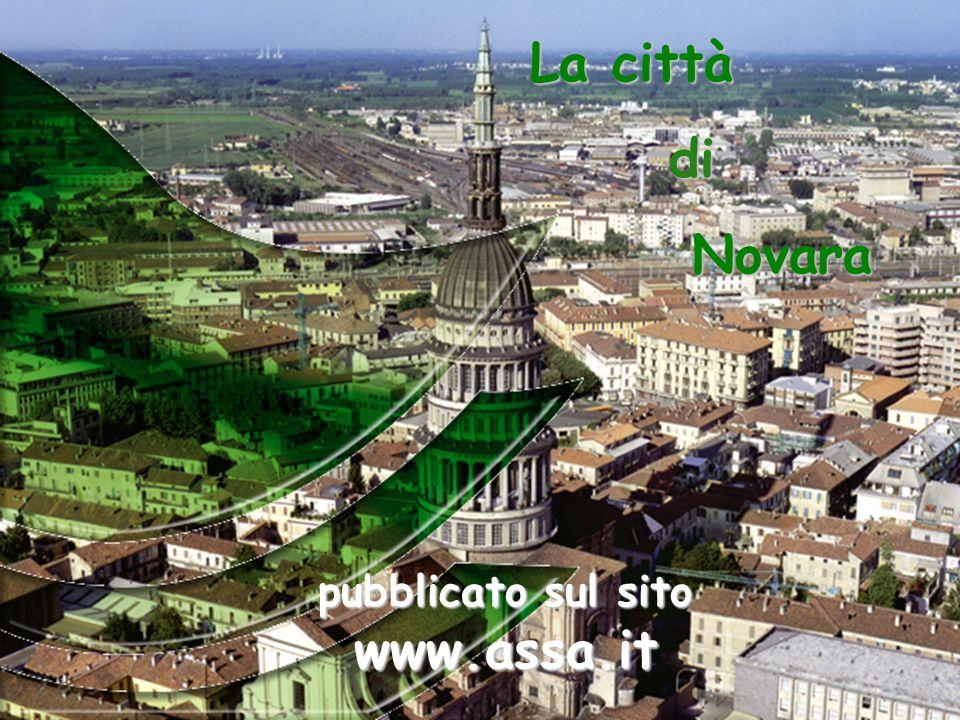 La città di Novara pubblicato sul sito www.assa.it