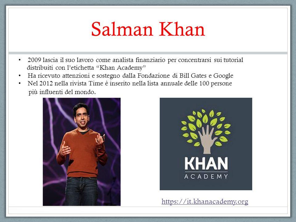 Salman Khan https://it.khanacademy.org