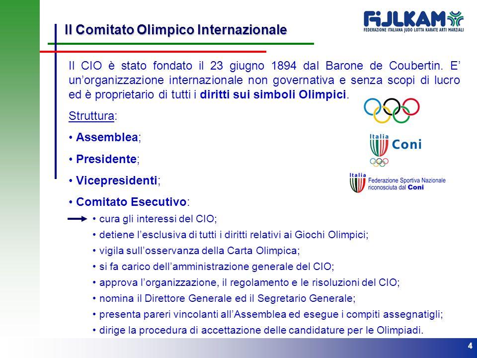 Il Comitato Olimpico Internazionale