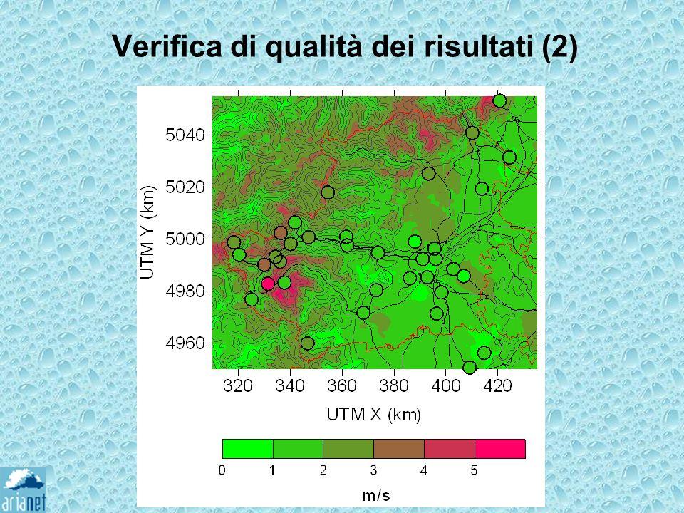 Verifica di qualità dei risultati (2)
