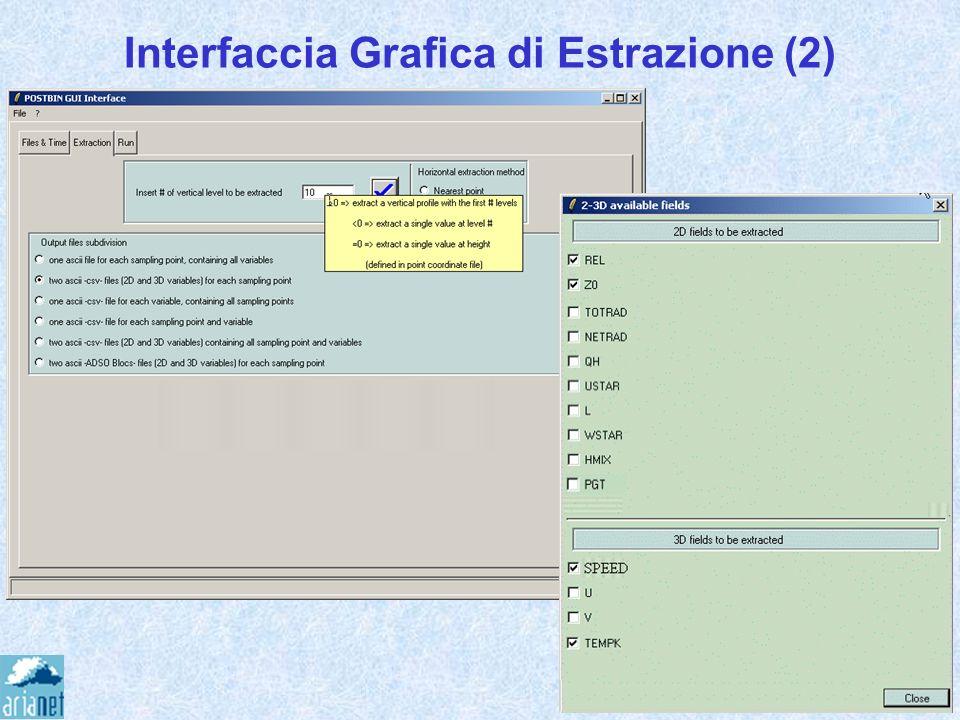 Interfaccia Grafica di Estrazione (2)