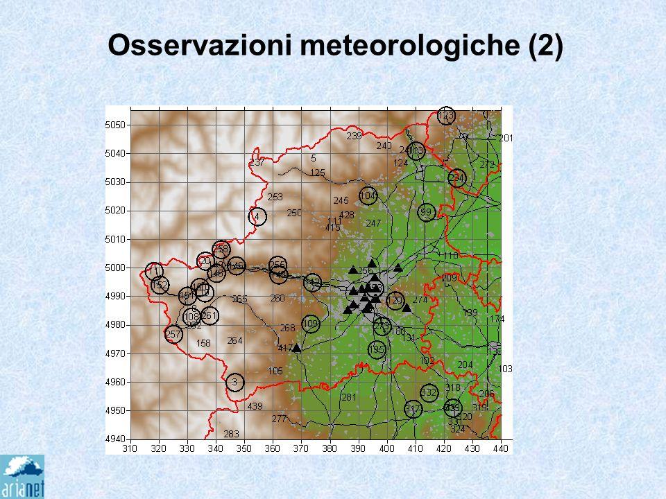 Osservazioni meteorologiche (2)