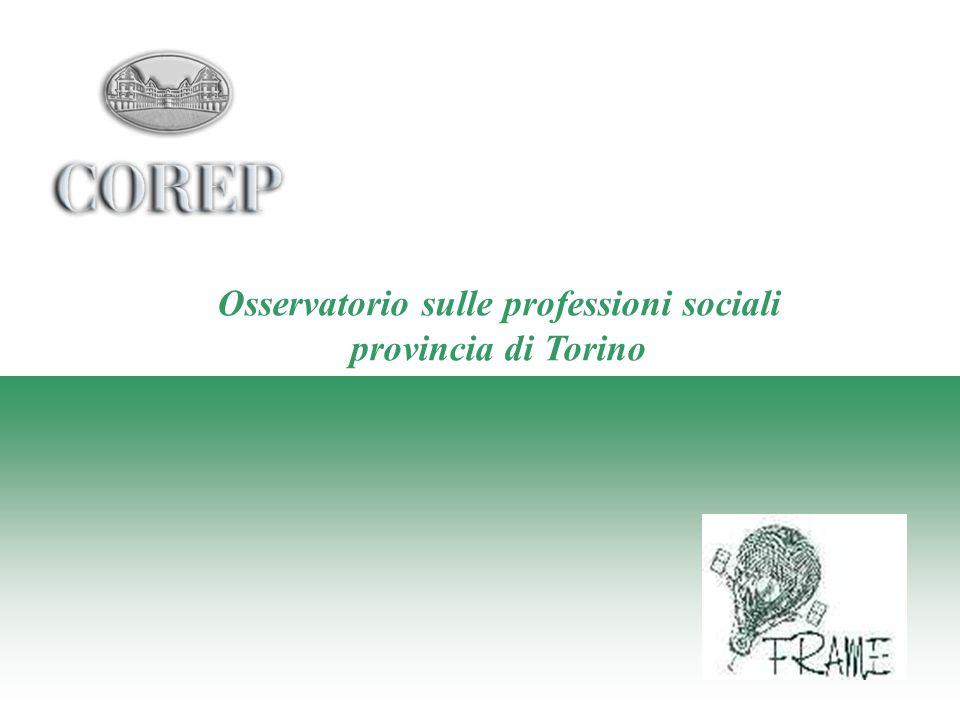Osservatorio sulle professioni sociali