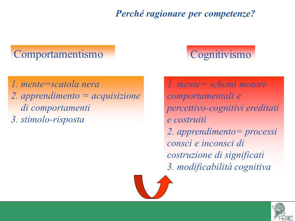 Perché ragionare per competenze