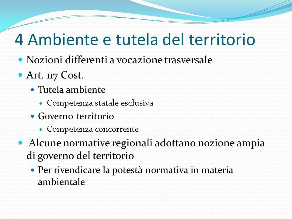 4 Ambiente e tutela del territorio
