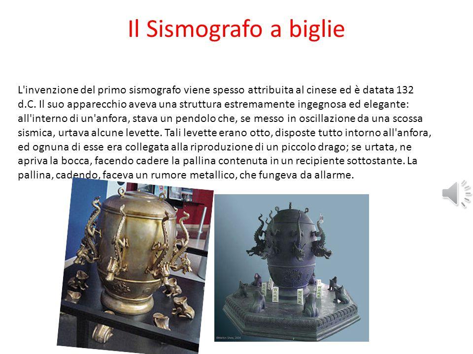 Il Sismografo a biglie