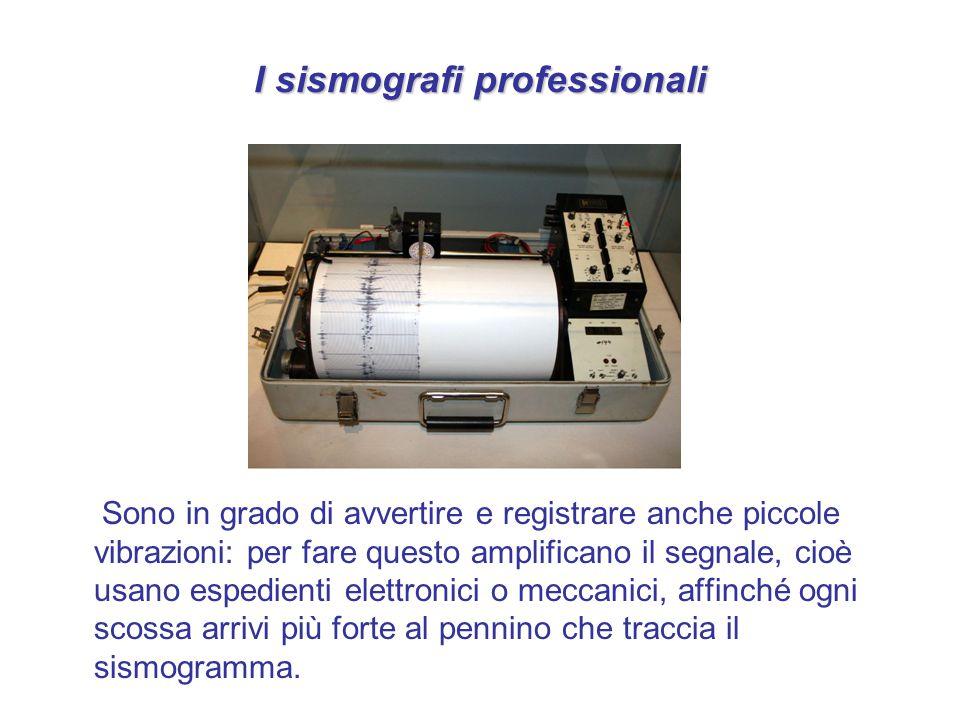 I sismografi professionali