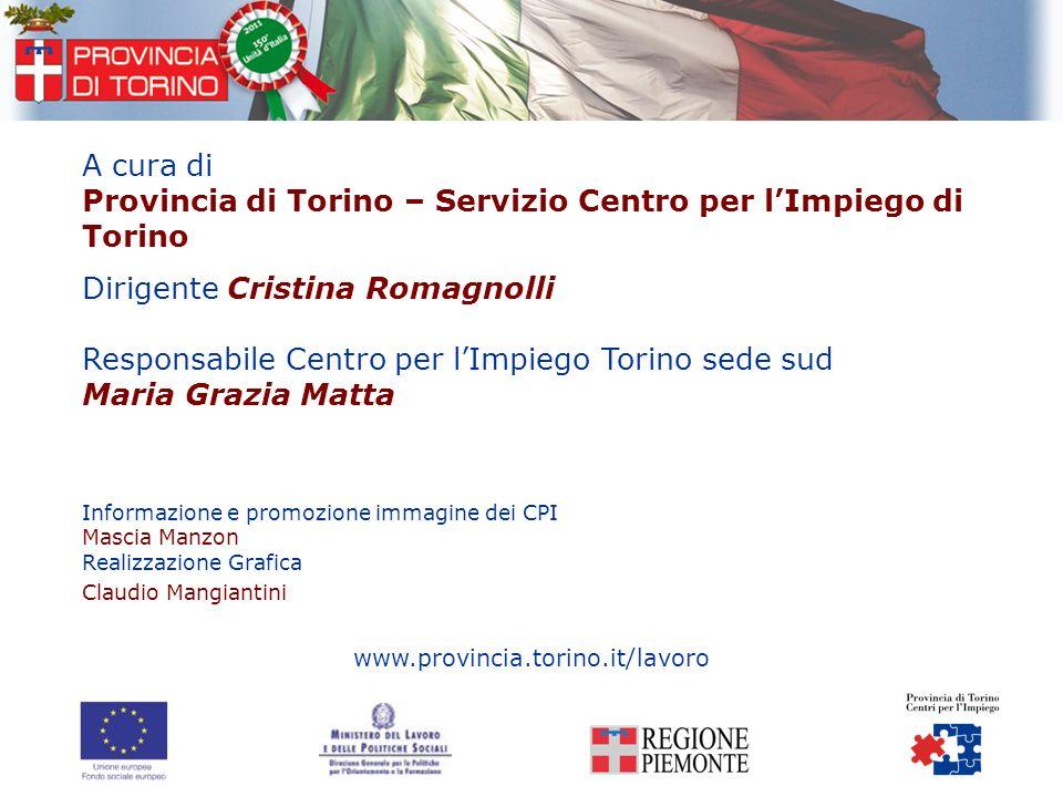 Provincia di Torino – Servizio Centro per l'Impiego di Torino