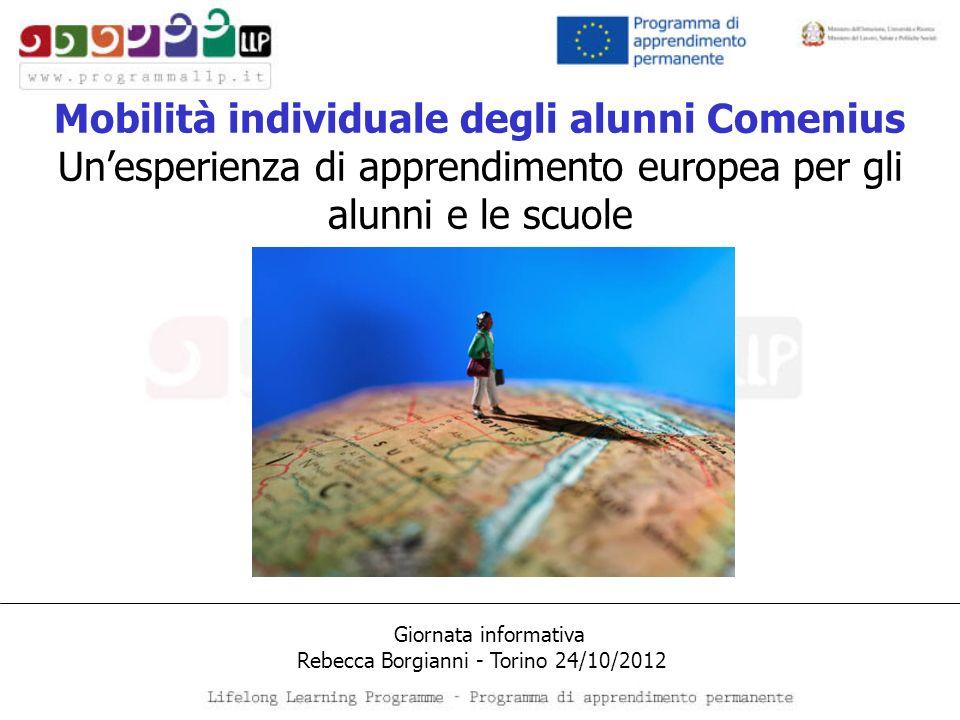 Mobilità individuale degli alunni Comenius