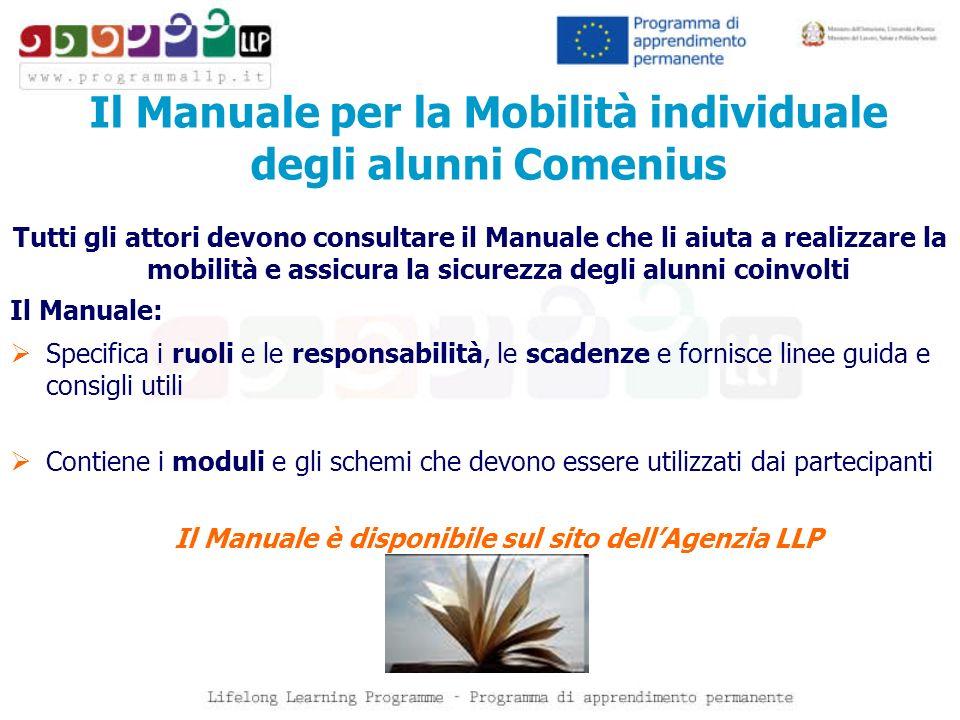 Il Manuale per la Mobilità individuale degli alunni Comenius