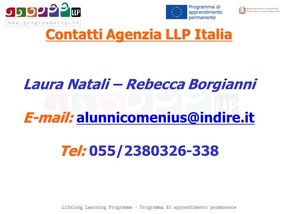 Contatti Agenzia LLP Italia