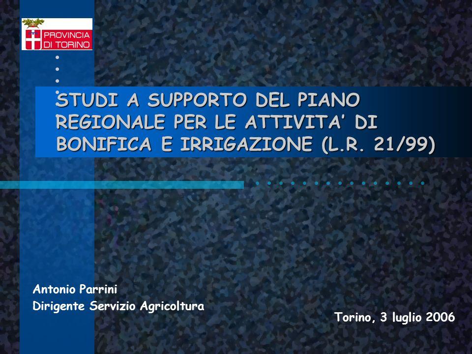 Antonio Parrini Dirigente Servizio Agricoltura