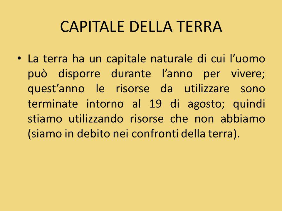 CAPITALE DELLA TERRA