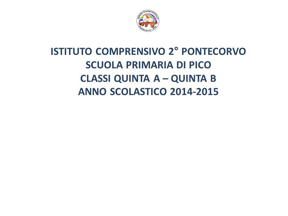 ISTITUTO COMPRENSIVO 2° PONTECORVO