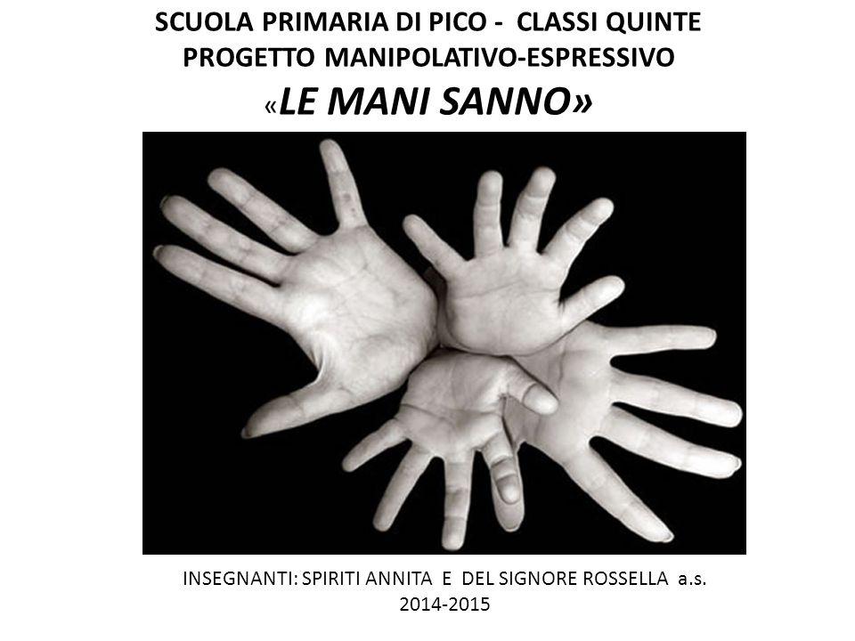 INSEGNANTI: SPIRITI ANNITA E DEL SIGNORE ROSSELLA a.s. 2014-2015