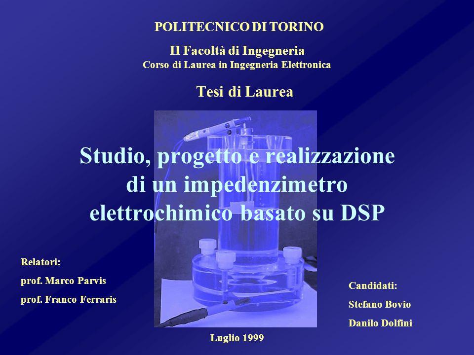II Facoltà di Ingegneria Corso di Laurea in Ingegneria Elettronica